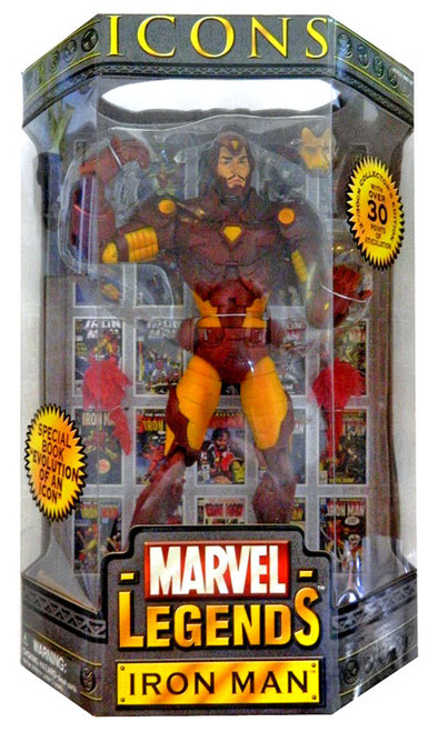 Marvel Legends Icons 12 Inch Series 1 Iron Man Action Figure