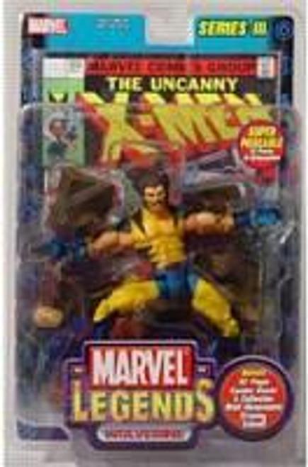 Marvel Legends Series 3 Wolverine Action Figure [Unmasked Variant]
