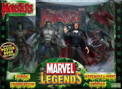 Marvel Legends Boxed Sets Monsters Action Figure Boxed Set
