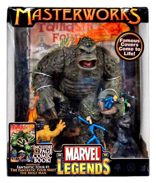 Marvel Legends Masterworks Series 1 Fantastic Four vs. Mole Man Action Figure