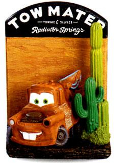 Disney Cars Mater Notepad Holder