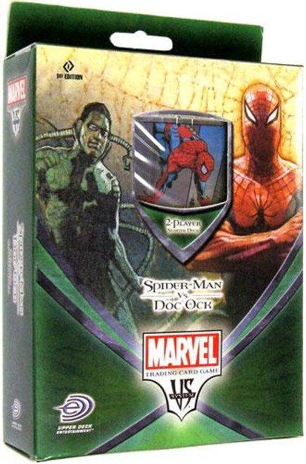 Marvel VS System Trading Card Game Web of Spider-Man Spider-Man vs. Doc Ock Starter Deck