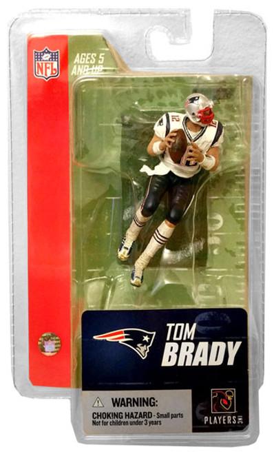 McFarlane Toys NFL New England Patriots Sports Picks 3 Inch Mini Series 3 Tom Brady Mini Figure