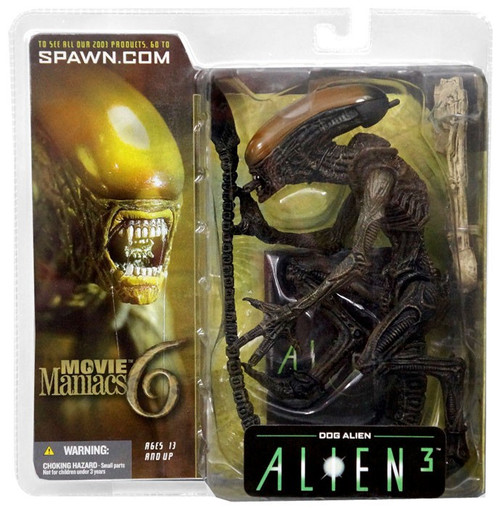 McFarlane Toys Alien 3 Movie Maniacs Series 6 Dog Alien Action Figure