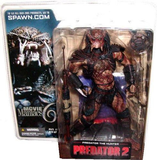 McFarlane Toys Predator 2 Movie Maniacs Series 6 Predator the Hunter Action Figure