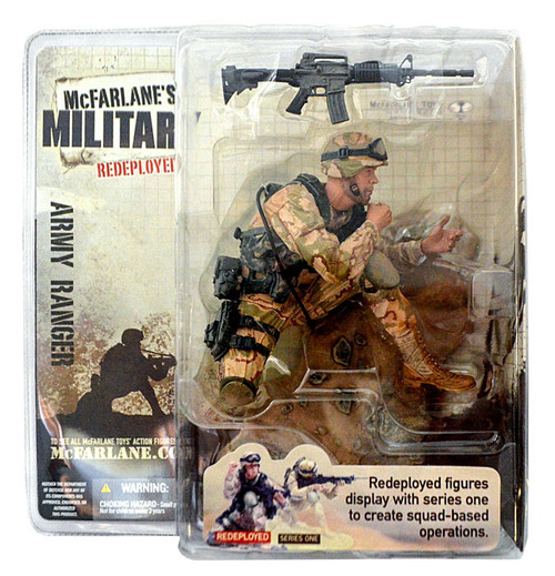 McFarlane Toys McFarlane's Military Redeployed Series 1 Army Ranger Action Figure [Random Ethnicity]