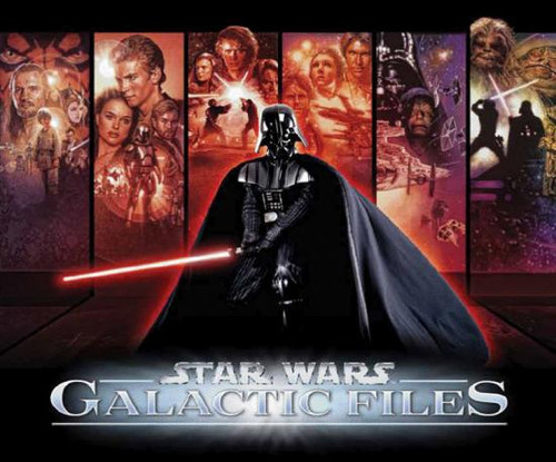 Star Wars Galactic Files Series 1 Trading Card Box