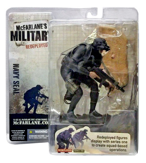McFarlane Toys McFarlane's Military Redeployed Series 1 Navy Seal Action Figure [Random Ethnicity]