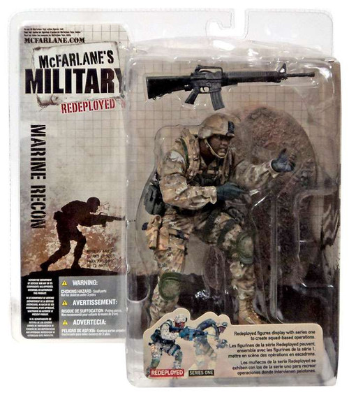 McFarlane Toys McFarlane's Military Redeployed Series 1 Marine Recon Soldier Action Figure [African American]