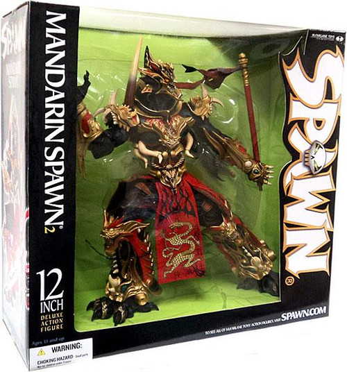 McFarlane Toys 12 Inch Deluxe Mandarin Spawn 2 Action Figure