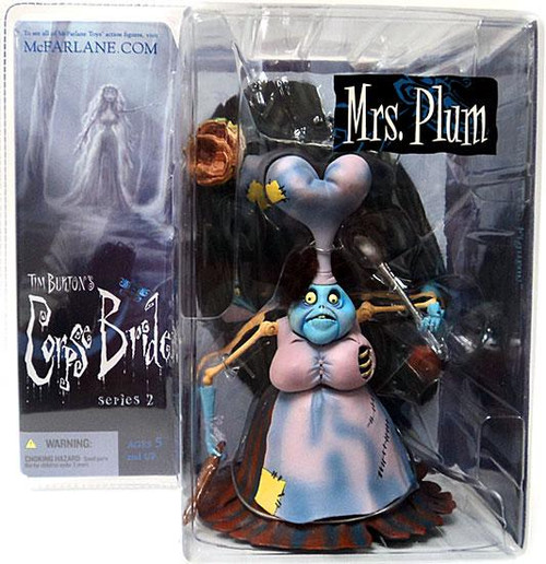McFarlane Toys Corpse Bride Series 2 Mrs. Plum Action Figure