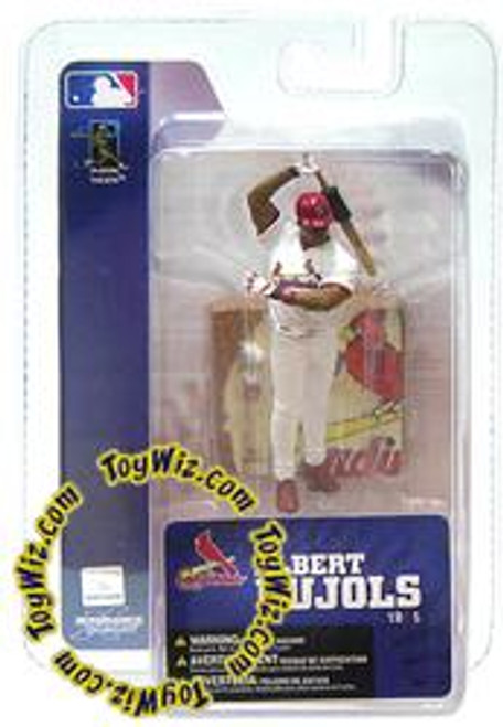McFarlane Toys MLB St. Louis Cardinals Sports Picks 3 Inch Mini Series 4 Albert Pujols Mini Figure