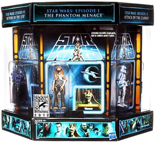 Star Wars Expanded Universe Exclusives 2012 Vintage Carbonite Chamber Exclusive Action Figure Set