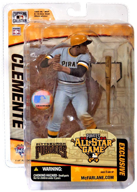 McFarlane Toys MLB Pittsburgh Pirates Sports Picks Exclusive Roberto Clemente Exclusive Action Figure