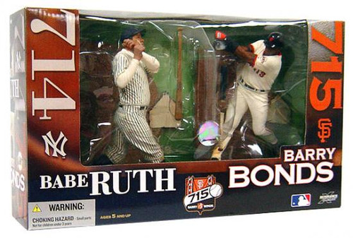McFarlane Toys MLB San Francisco Giants Sports Picks 2-Packs Barry Bonds Action Figure 2-Pack