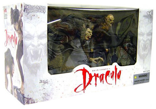 McFarlane Toys Deluxe Boxed Sets Bram Stoker's Dracula Action Figure 2-Pack