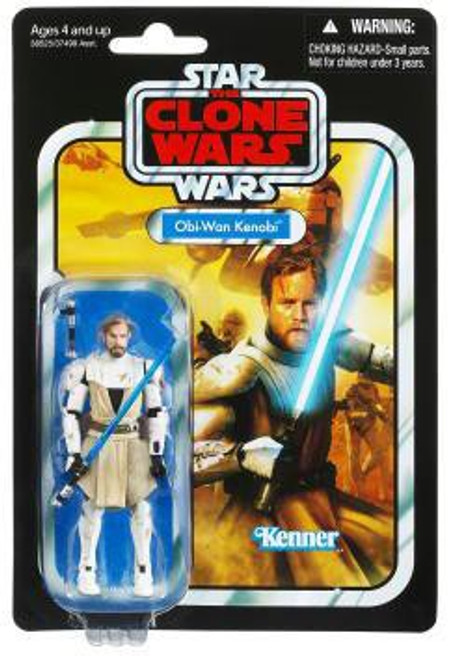 Star Wars The Clone Wars Vintage Collection 2012 Obi-Wan Kenobi Action Figure #103