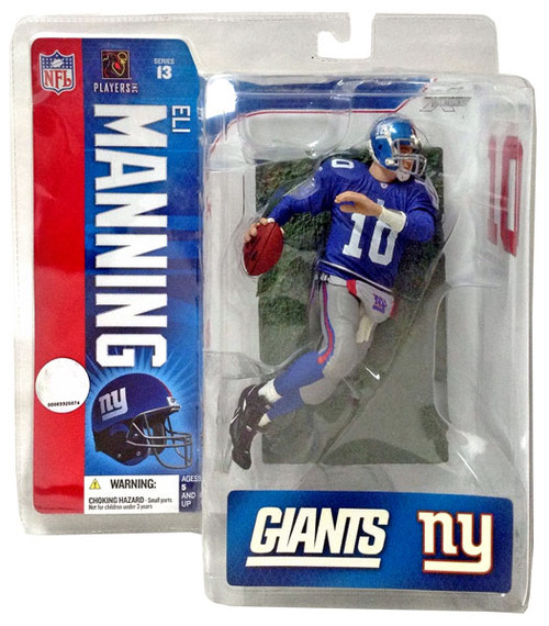 McFarlane Toys NFL New York Giants Sports Picks Series 13 Eli Manning Action Figure [Blue Jersey]