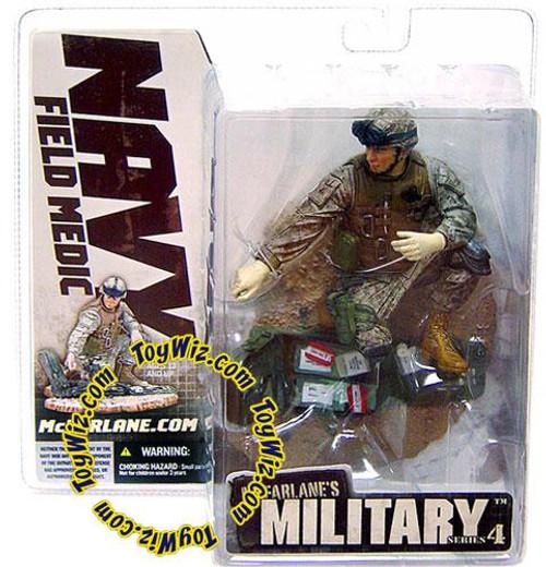 McFarlane Toys McFarlane's Military Series 4 Navy Field Medic Action Figure [Caucasian]