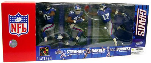 McFarlane Toys NFL Sports Picks 3-Packs New York Giants Exclusive Action Figure 3-Pack