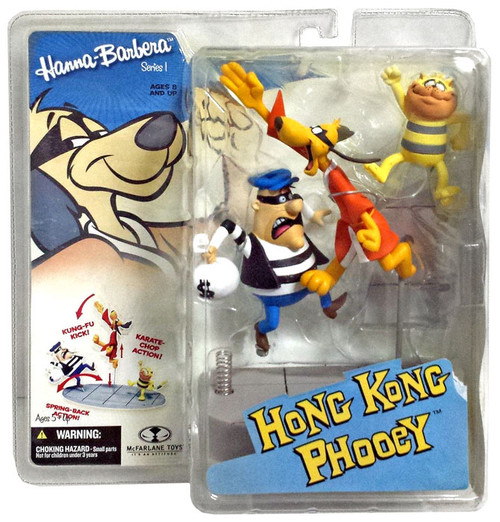 McFarlane Toys Hanna-Barbera Series 1 Hong Kong Phooey Action Figure