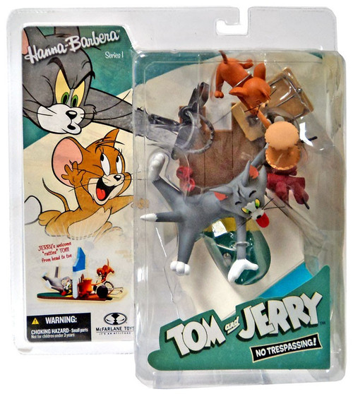 McFarlane Toys Hanna-Barbera Series 1 Tom & Jerry No Trespassing Action Figure