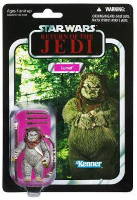 Star Wars Return of the Jedi Vintage Collection 2012 Lumat Action Figure #104 [Ewok]