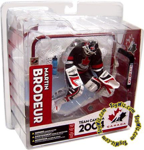McFarlane Toys NHL Sports Picks Team Canada Martin Brodeur Action Figure [Black Jersey Variant]
