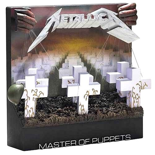 McFarlane Toys Pop Culture Masterworks Metallica Master of Puppets 3-D Album Cover