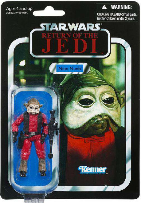 Star Wars Return of the Jedi Vintage Collection 2012 Nien Nunb Action Figure #106