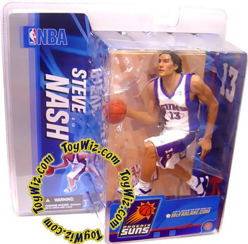 McFarlane Toys NBA Phoenix Suns Sports Picks Series 10 Steve Nash Action Figure [White Jersey Variant]