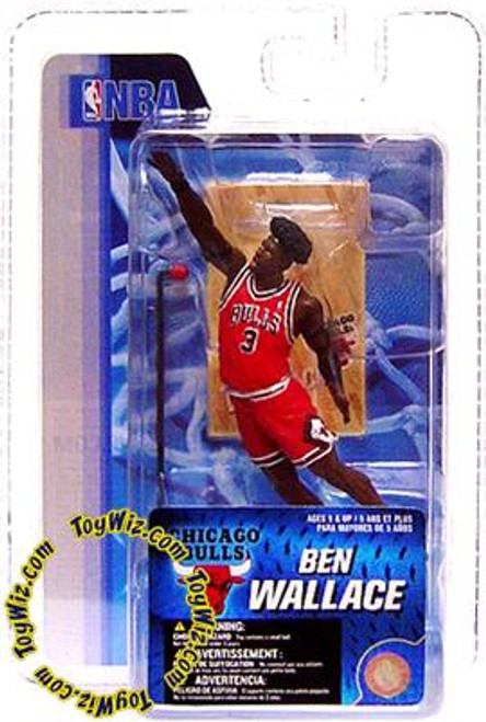 McFarlane Toys NBA Chicago Bulls Sports Picks 3 Inch Mini Series 4 Ben Wallace Mini Figure