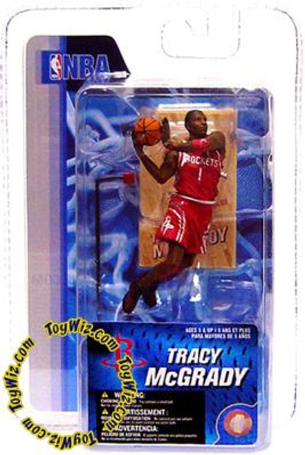 McFarlane Toys NBA Houston Rockets Sports Picks 3 Inch Mini Series 4 Tracy McGrady Mini Figure