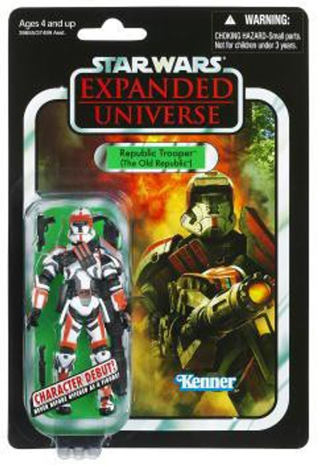 Star Wars Expanded Universe Vintage Collection 2012 Republic Trooper Action Figure #113 [The Old Republic]
