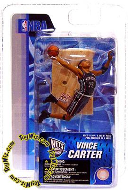 McFarlane Toys NBA New Jersey Nets Sports Picks 3 Inch Mini Series 4 Vince Carter Mini Figure