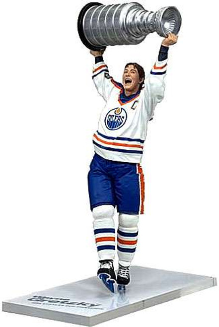 McFarlane Toys NHL Edmonton Oilers Sports Picks Legends Series 4 Wayne Gretzky Action Figure [White Jersey]