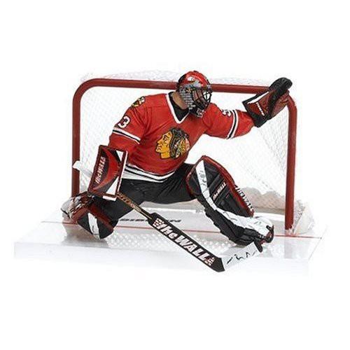 McFarlane Toys NHL Chicago Blackhawks Sports Picks Series 12 Nikolai Khabibulin Action Figure [Red Jersey]