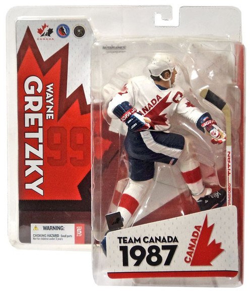 McFarlane Toys NHL Sports Picks Team Canada Wayne Gretzky Action Figure
