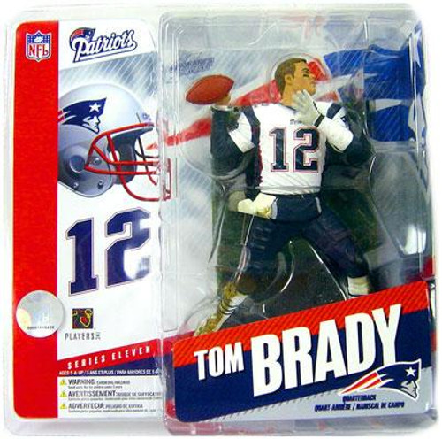 McFarlane Toys NFL New England Patriots Sports Picks Series 11 Tom Brady Action Figure [No Helmet Variant]