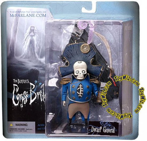 McFarlane Toys Corpse Bride Series 1 Dwarf General Bonesapart Action Figure