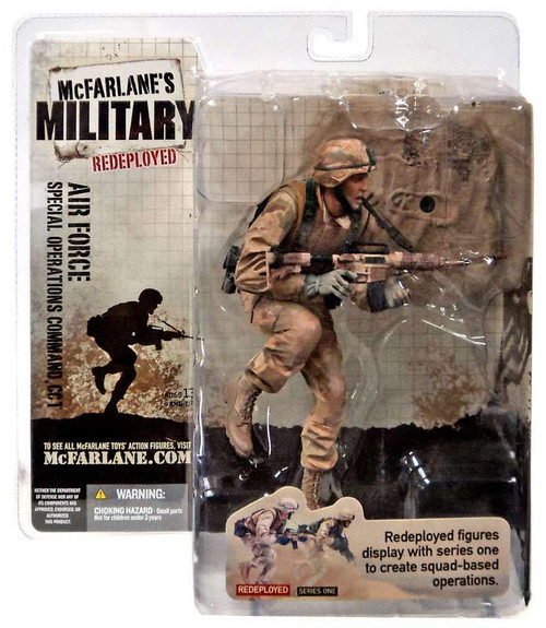 McFarlane Toys McFarlane's Military Redeployed Series 1 Air Force Special Operations Command, CCT Action Figure [Caucasian]