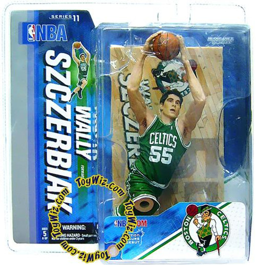 McFarlane Toys NBA Boston Celtics Sports Picks Series 11 Wally Szczerbiak Action Figure [Green Jersey]