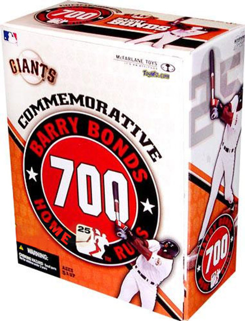 McFarlane Toys MLB San Francisco Giants Sports Picks Exclusive 700th Home Run Barry Bonds Exclusive Action Figure