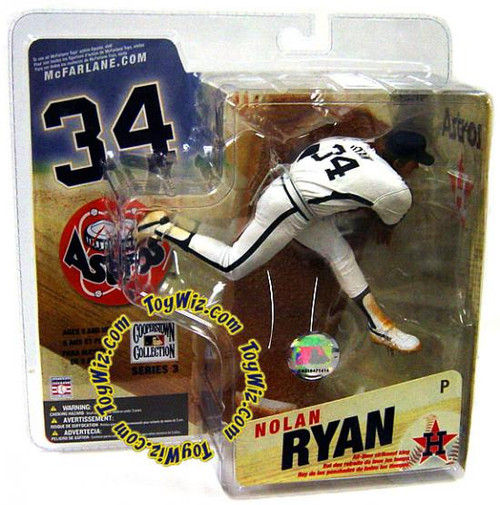 McFarlane Toys MLB Cooperstown Collection Series 3 Nolan Ryan Action Figure [Astros Uniform]
