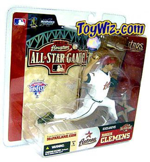 McFarlane Toys MLB Houston Astros Sports Picks Exclusive Roger Clemens Exclusive Action Figure [Damaged Package]