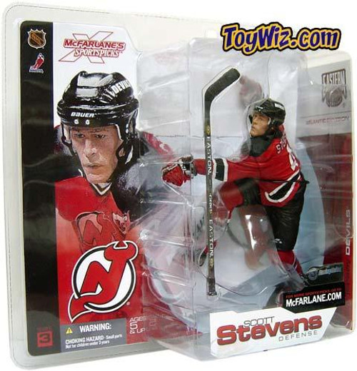 McFarlane Toys NHL New Jersey Devils Sports Picks Series 3 Scott Stevens Action Figure [Red Jersey]