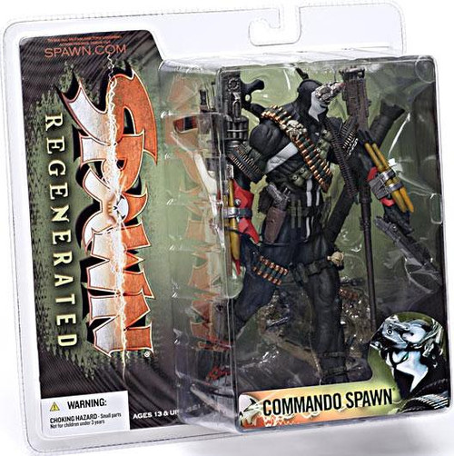 McFarlane Toys Series 28 Regenerated Commando Spawn Action Figure