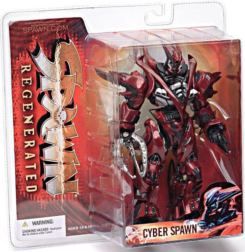 McFarlane Toys Series 28 Regenerated Cyber Spawn Action Figure