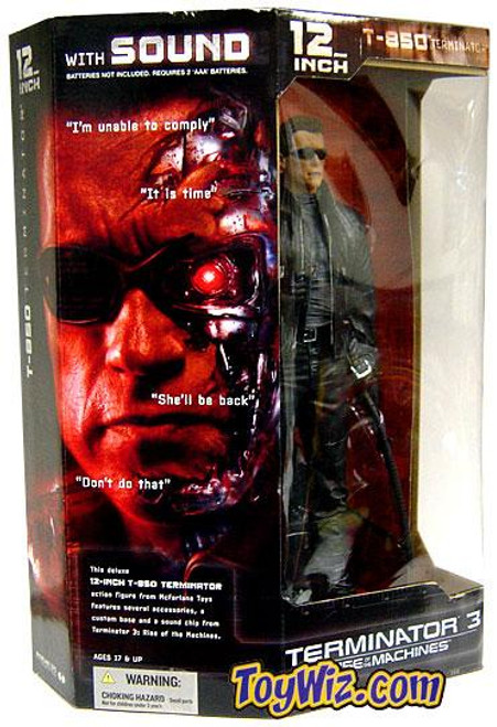McFarlane Toys The Terminator Terminator 3 Rise of the Machines T-850 Terminator 12 Inch Action Figure