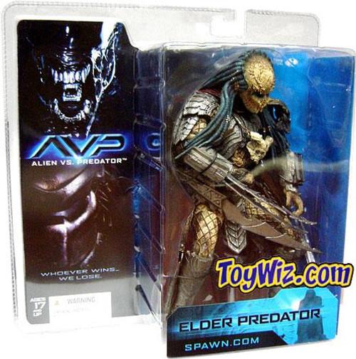 McFarlane Toys Alien vs Predator Alien vs. Predator Movie Elder Predator Action Figure
